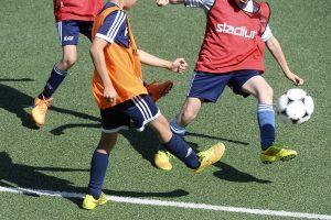 fotbollsövningar med barn